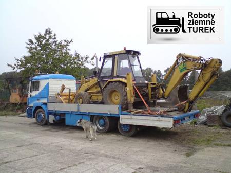 Transport maszyn Łódź.